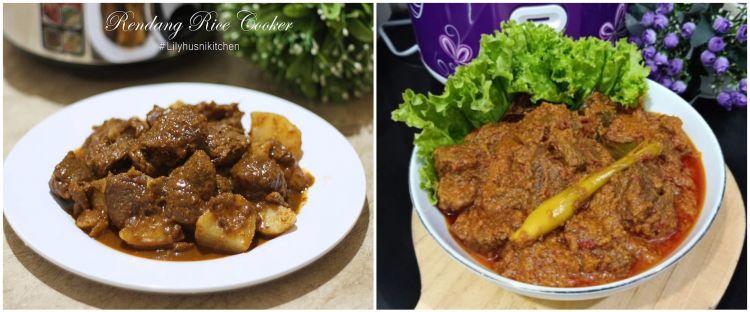 7 Resep rendang rice cooker, enak, praktis, dan sederhana