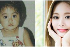 10 Transformasi Tzuyu Twice, cantik dan menggemaskan sejak kecil