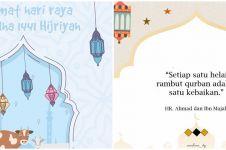 60 Kata-kata mutiara ucapan selamat Idul Adha, indah dan berkesan