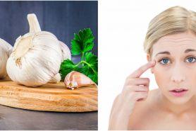 5 Manfaat bawang putih untuk kecantikan, menyamarkan kerutan wajah