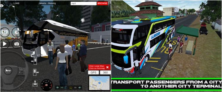 Rekomendasi 6 video game bus simulator di Android, realistis abis