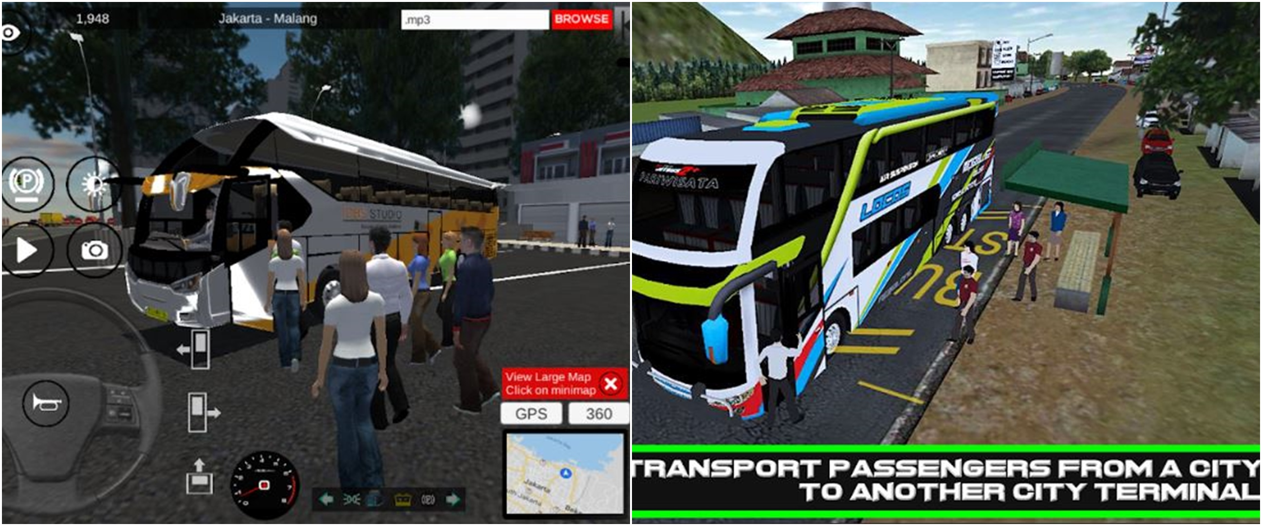 Rekomendasi 6 video game bus simulator di Android, realistis abis