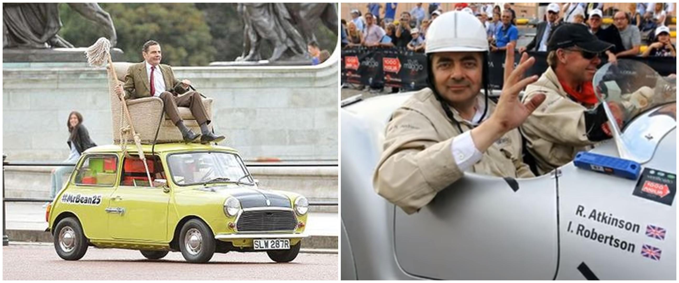 10 Koleksi mobil Mr. Bean, harganya ada yang capai Rp 171 M