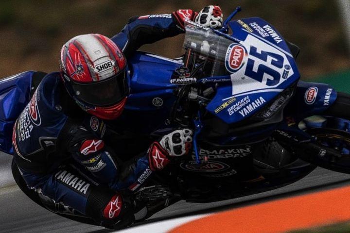 Rider Indonesia ini siap melesat diputaran ke-2 World Supersport