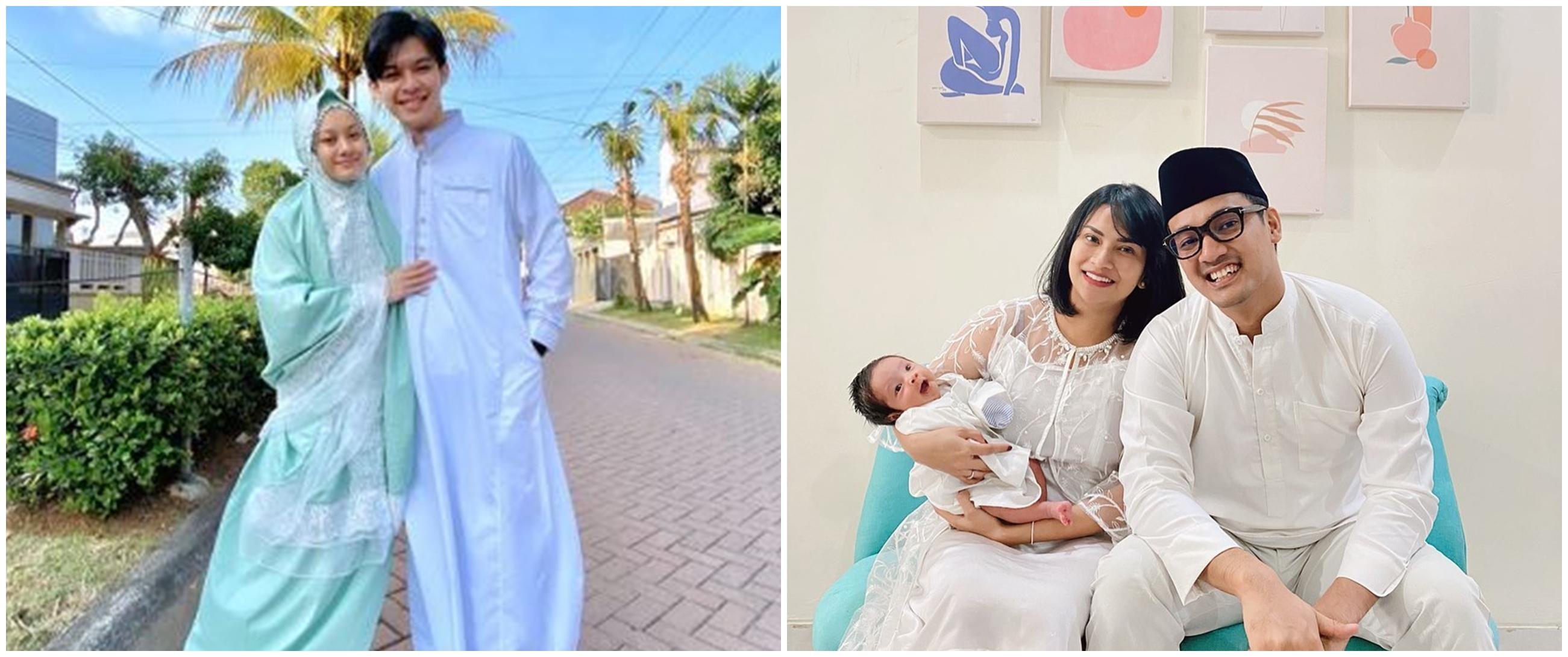 Momen 7 seleb rayakan Idul Adha pertama sama pasangan, bikin baper