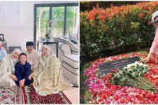 9 Momen haru BCL dan Noah ziarah ke makam Ashraf saat Idul Adha