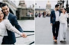 8 Potret Chef Marinka bareng pria bule di Paris, romantis