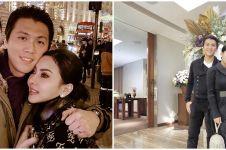12 Momen ulang tahun Syahrini, Reino Barack tulis ucapan romantis