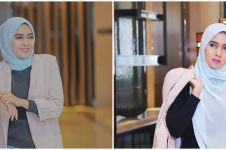 10 Potret Lisda Oxalis, pemeran drama kolosal yang kini berhijab