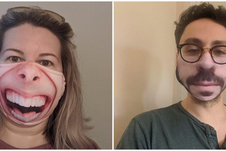 10 Masker ini ubah ekspresi wajah orang, hasil bikin ngakak
