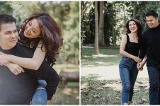 7 Potret prewedding Rosiana Dewi dan Handika Pratama, romantis abis
