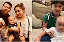 10 Momen Rafathar bareng Kiano, gemasnya mirip kakak adik