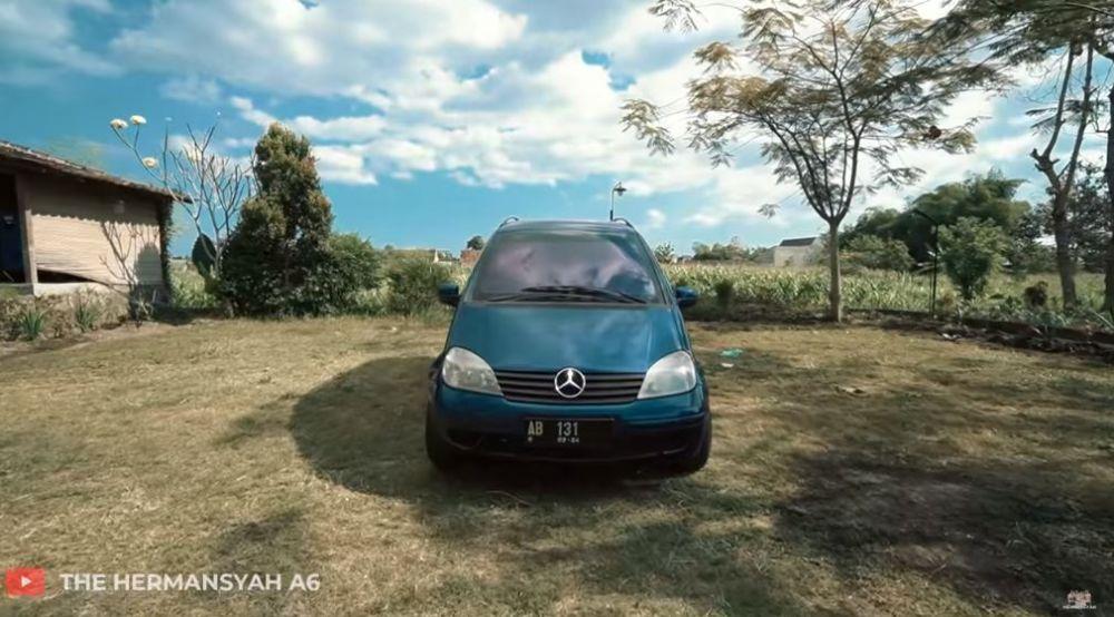 potret mobil incaran azriel © 2020 YouTube/The Hermansyah A6