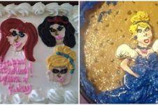 20 Potret kue bertema princess Disney ini hasilnya bikin ngakak