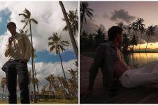10 Momen liburan Richard Kyle usai putus dari Jessica Iskandar