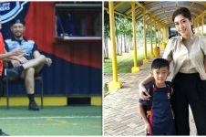 7 Aksi Airlangga anak Aliya Rajasa & Ibas main voli, tuai pujian