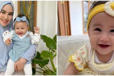 8 Potret Khalisa anak Kartika Putri pakai bandana, bikin gemas