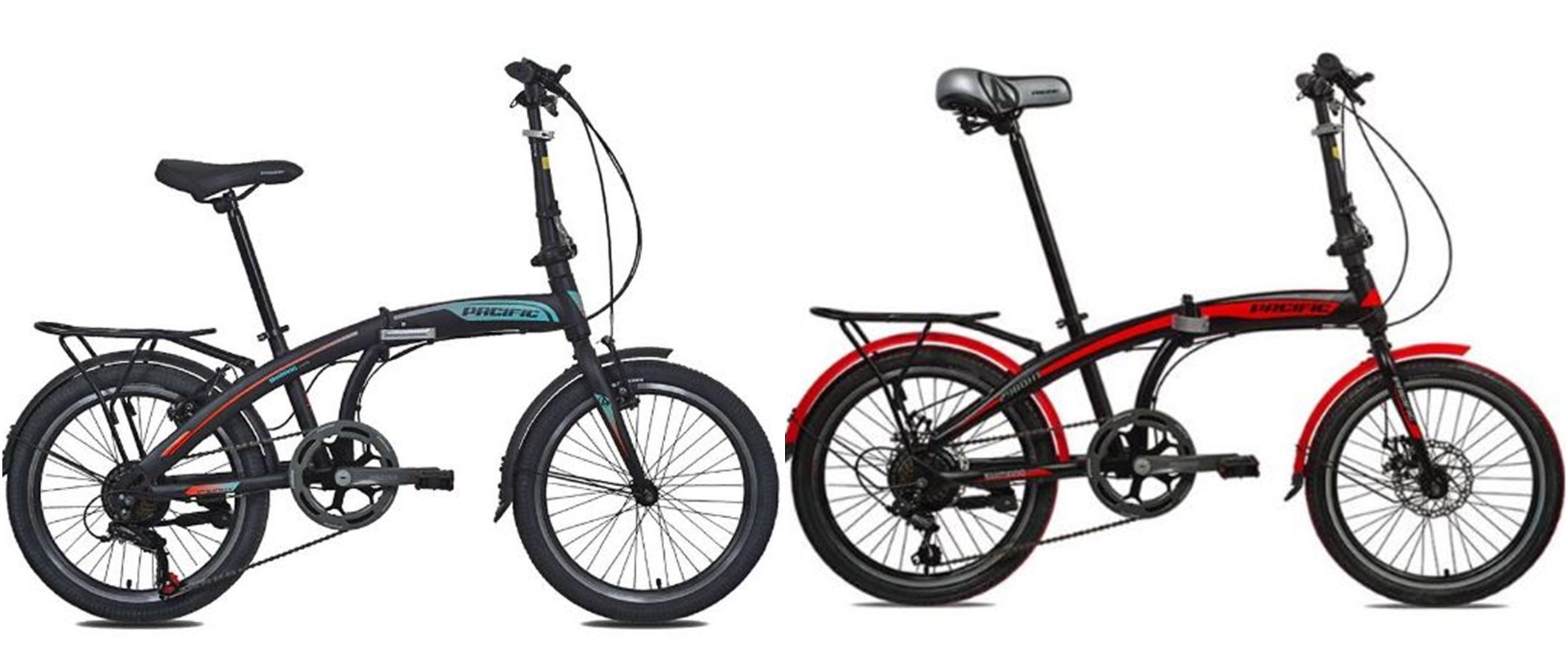Harga sepeda lipat Pacific di bawah Rp 3,5 juta dan spesifikasinya
