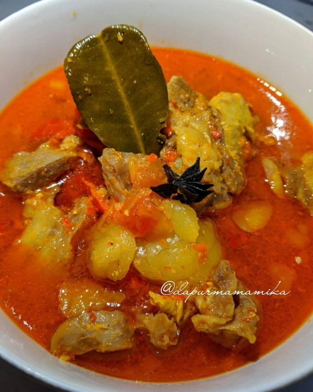 resepi telur rebus masak kari  santan indonesian food recipes Resepi Mee Rebus Tanpa Daging Enak dan Mudah