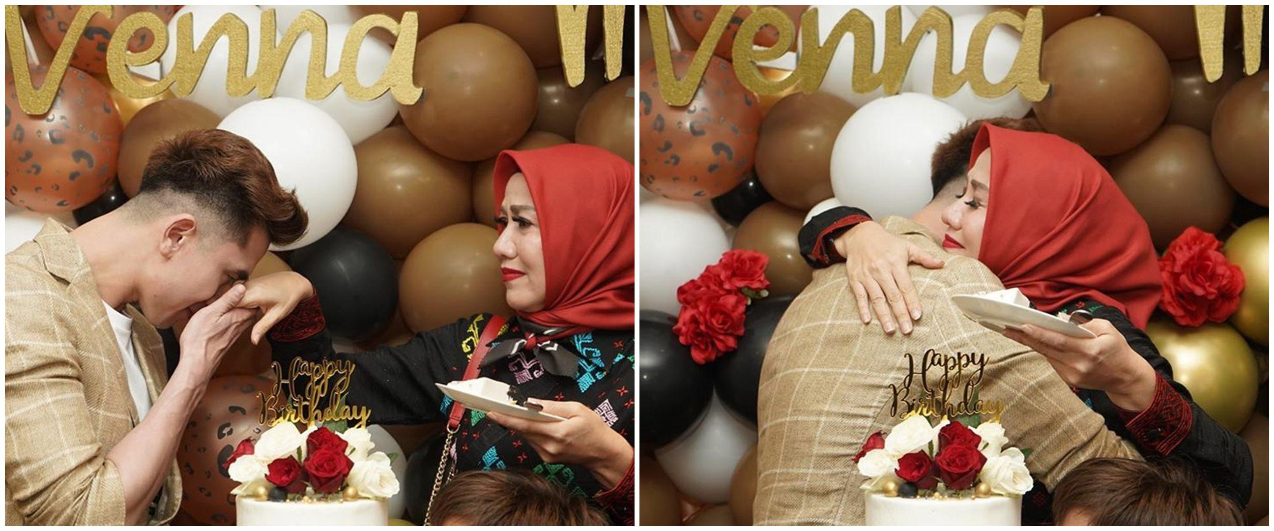 9 Momen ulang tahun Venna Melinda, Verrell beri ucapan menyentuh