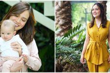 8 Momen Shandy Aulia temani Claire belajar merangkak di usia 5 bulan