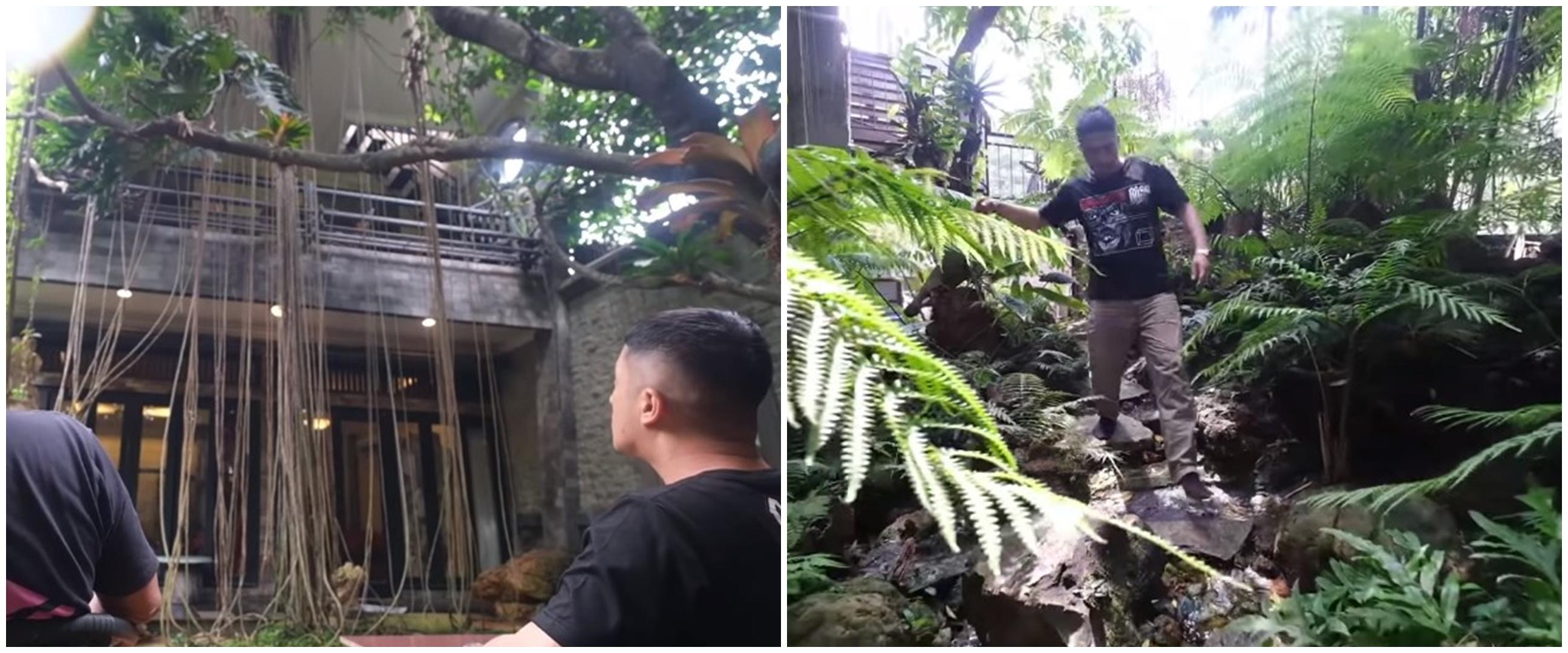 10 Potret 'rumah hutan' Haji Asari yang bikin Irfan Hakim takjub