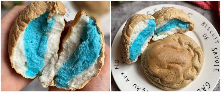 Resep dan cara membuat cloud bread viral di TikTok, enak dan fluffy