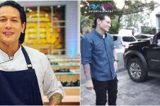 7 Potret isi mobil Chef Juna, kemana-mana bawa pisau