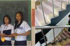 3 Kisah persahabatan menyentuh hati, gendong sahabat ke sekolah