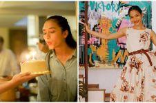 8 Momen kejutan ulang tahun Putri Marino ke-27 di lokasi syuting
