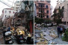 10 Potret kondisi Beirut Lebanon pasca ledakan, ribuan orang terluka
