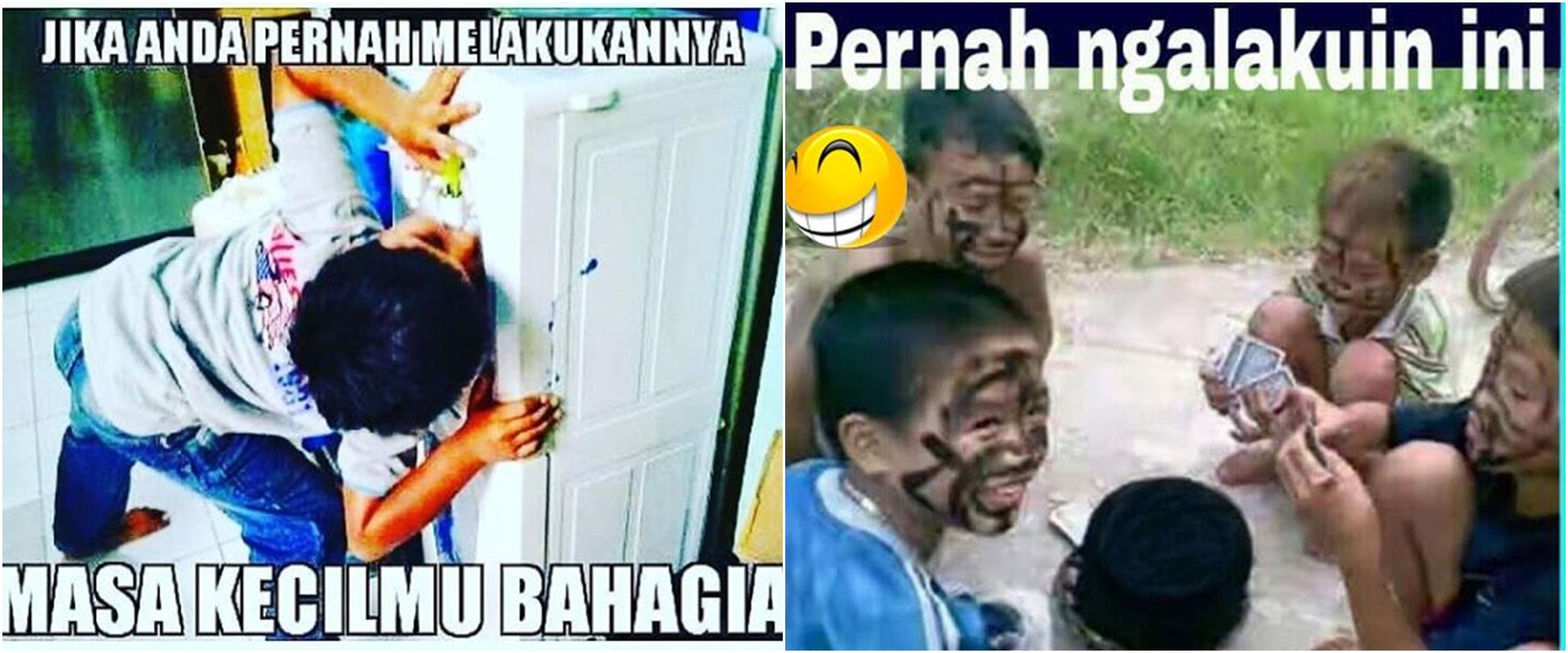 11 Meme lucu masa lalu anak kecil ini bikin auto senyum nostalgia
