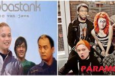10 Poster grup band diedit pakai wajah pelawak, bikin gagal sangar