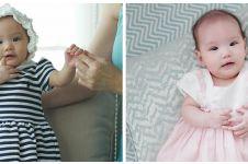 8 Potret Claire Herbowo anak Shandy Aulia pakai dress, bikin gemas