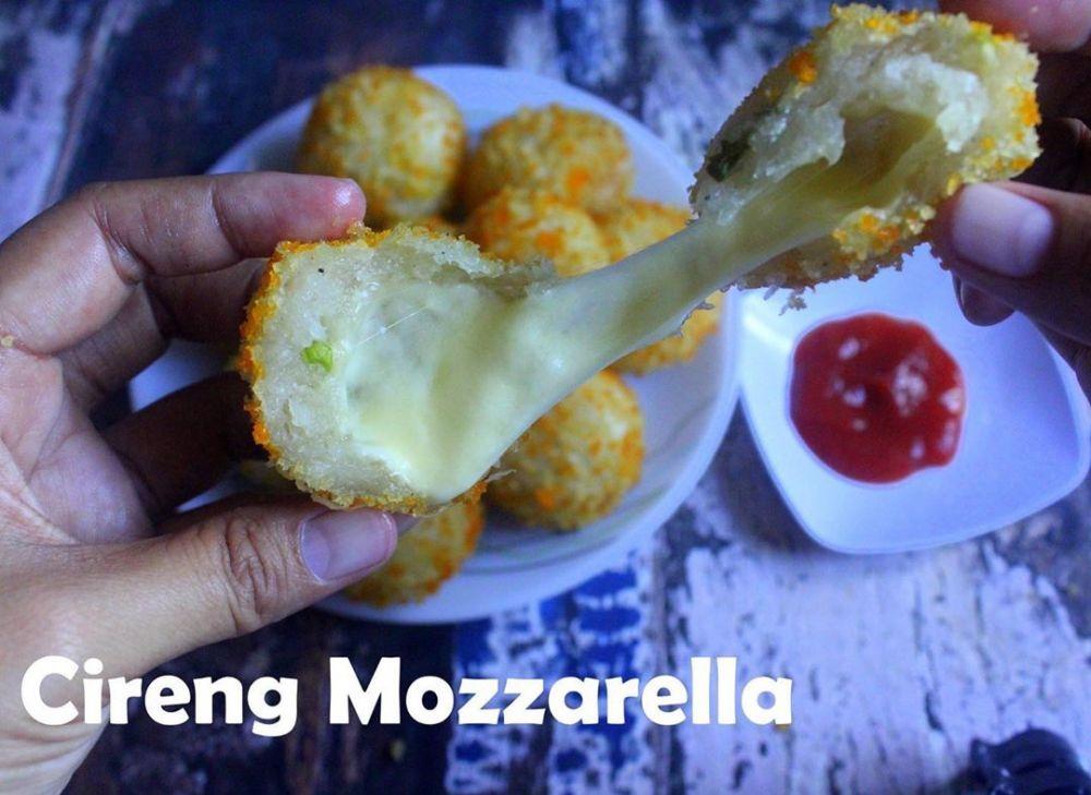 Resep camilan keju mozarella © 2020 brilio.net
