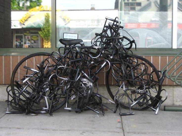 kunci sepeda absurd berbagai sumber