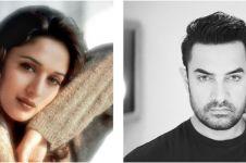 Berteman baik, 7 potret lawas Madhuri Dixit & Aamir Khan serasi abis