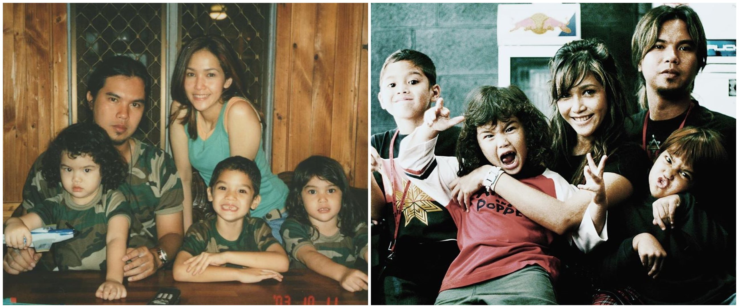 6 Foto kenangan masa kecil Al, El, dan Dul bareng orangtuanya