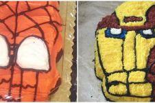 10 Kue ultah bertema superhero ini hasilnya bikin geleng kepala