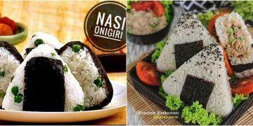 8 Resep onigiri ala Jepang, enak, mudah dan ekonomis