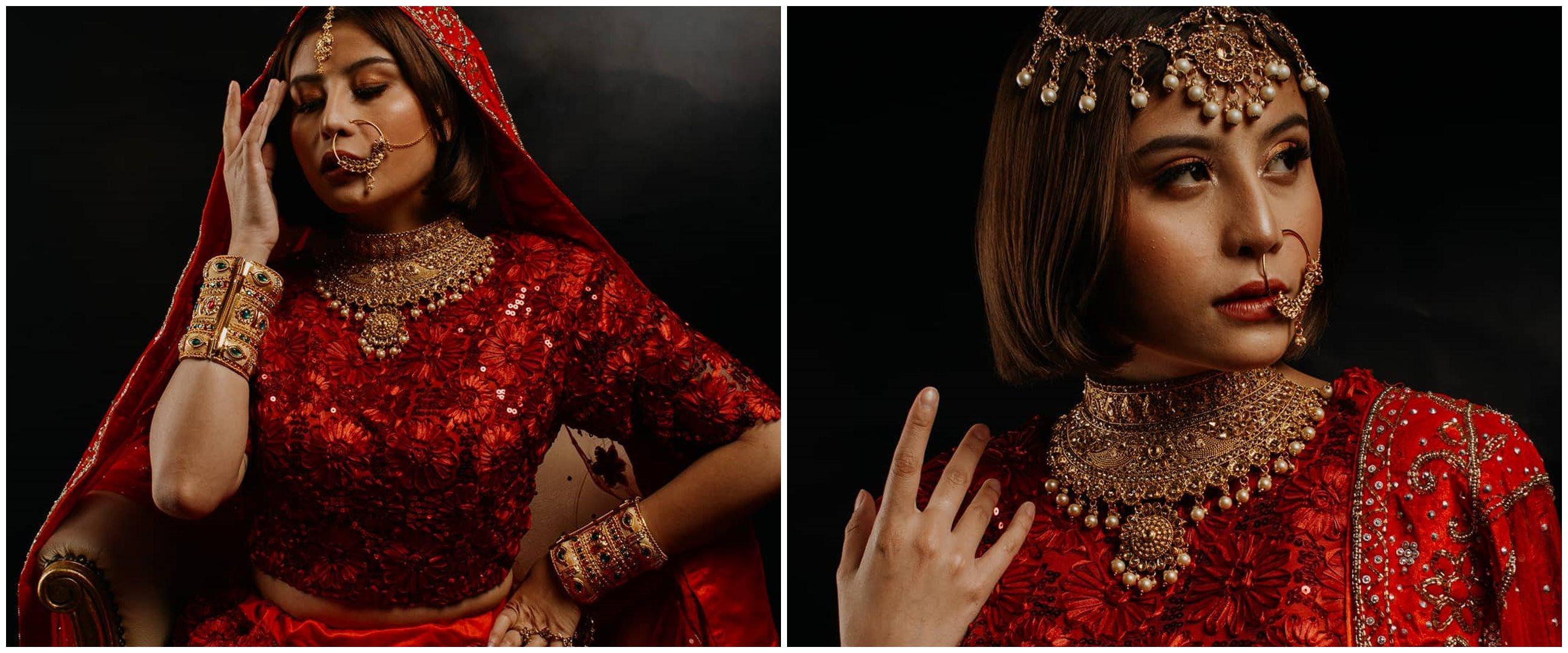 8 Potret Awkarin dalam balutan sari, bak seleb Bollywood