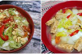 9 Resep tumis sawi putih, enak, praktis dan sederhana