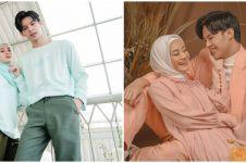 8 Momen Dinda Hauw & Rey Mbayang pakai baju couple, so sweet