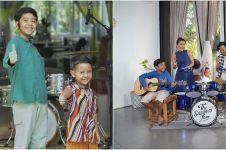 7 Momen 3 anak Widi Mulia main musik bareng sampai rilis single lagu