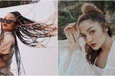 8 Potret terbaru Siti Badriah dengan gaya rambut cornrow, memesona