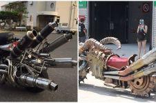 20 Modifikasi knalpot sepeda motor, bentuknya 'nggak santai'