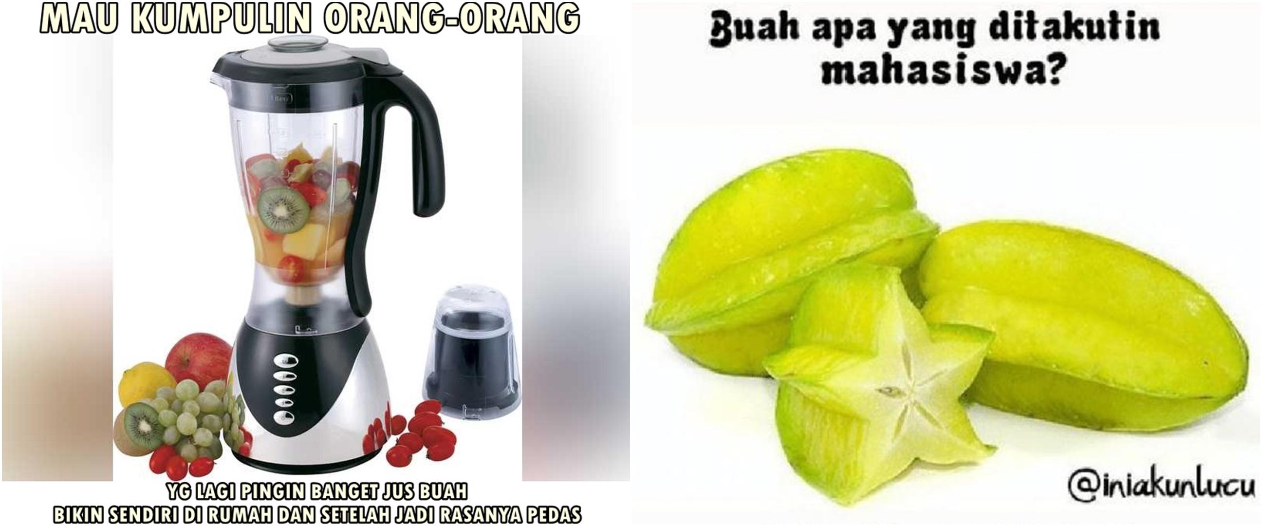 10 Meme lucu ala buah-buahan ini bikin senyum kecut