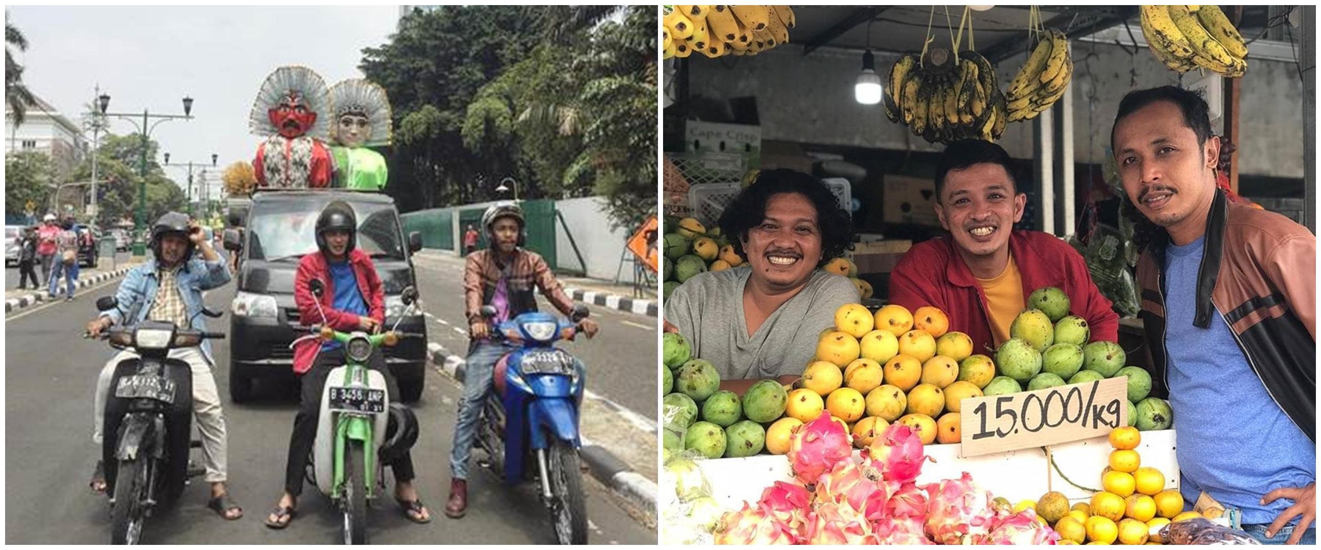 8 Potret terbaru Kang Tisna eks TOP, sekarang jadi pedagang buah