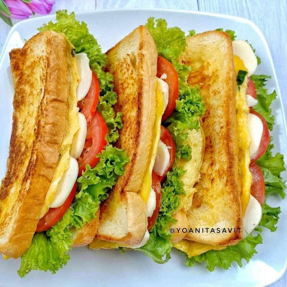 Resep kreasi roti untuk sarapan © 2020 brilio.net