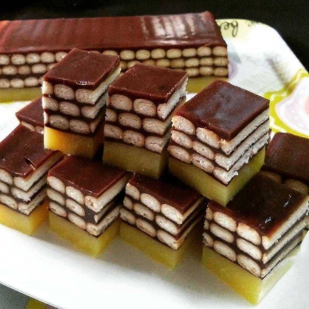 resep puding cokelat instagram